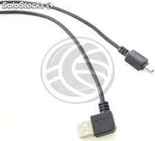Usb 2.0 (am acodado/MiniUSB5pin-m Type b) 1.8m (UW33)