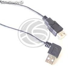 Usb 2.0 (am elbow/ah) 0.2m (UW01)