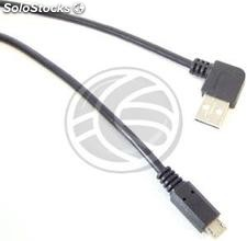 Usb 2.0 (am elbow/MicroUSB-m type b) 3m (UW24)