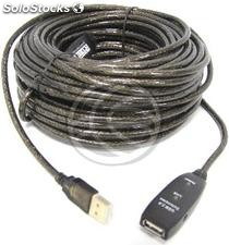 Usb 2.0 Extension Cable am -> 1xAH powered (15m) (UA09)
