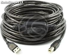 Usb 2.0 Extension Cable am -> 1xBM (15m) (UA12)