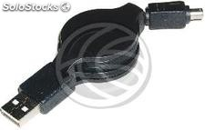 Usb 2.0 Retractable Cable Nikon 120cm (am/Nikon8P) (EX64)
