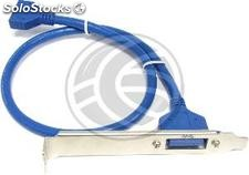 Usb 3.0 plate HS20 HS20 female to female (UU42)