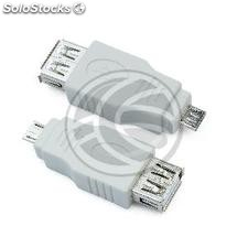 USB adapter A female to type B male Micro USB (US92)