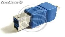 Usb Adapter usb 3.0 to 2.0 (b Male to b Male 5 pin mini usb) (UY81)