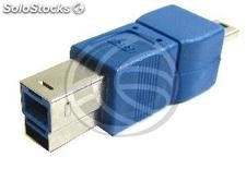 Usb Adapter usb 3.0 to 2.0 (b MiniUSB 5 Pins Male to a Male) (UY83)