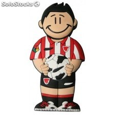 USB de 8 Gb Athletic de Bilbao en lata con abre facil