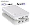 Usb energia portatil movil alimentacion banco 5000mAH tablets pc celular phone