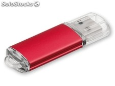 Usb Flash 40, Usb Metalico Con Cubierta De Plastic