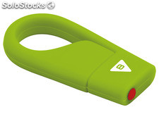 Usb FlashDrive 8GB emtec hang D200 (Green)