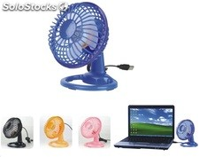 Usb mini ventilador para pc laptop netbook mini fan hh520