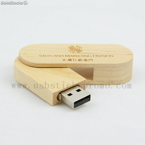 usb stick holz swivel mit gravur usb stick holz swivel. Black Bedroom Furniture Sets. Home Design Ideas