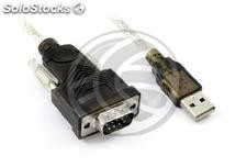 Usb to RS232 DB9 male 1 x 1.5 m (TS90)
