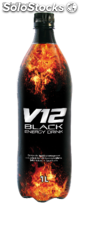 v12 Black Energy Drink Pet 1 Litro
