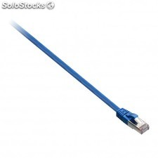 V7 - Cable de red STP blindado CAT6 (RJ45m/m) azul 0,5 m