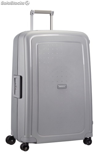valise samsonite s 39 cure spinner 75cm argent. Black Bedroom Furniture Sets. Home Design Ideas