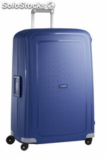 Valise Samsonite S'CURE Spinner 81cm Dark - Bleu