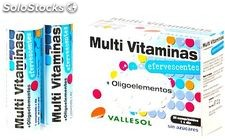 Vallesol Multivitaminas Junior Efervescente 24 comprimidos