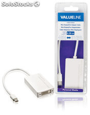 Valueline Cable adaptador mini DisplayPort macho - HDMI + DVI-I + DisplayPort