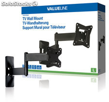 "Valueline Soporte de pared para TV de 10 - 26"" / 25 - 66 cm, hasta 15 kg,"