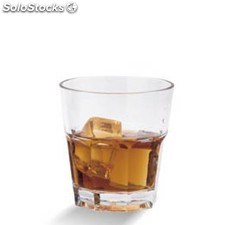 "Vaso 228 ml ""stackable"" transparente policarbonato"