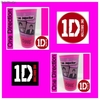 Vaso 500ml rosa One Direction