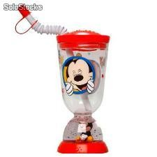 "Vaso Caña Mickey Mouse Burbuja"" (275 ml)"""