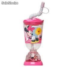 "Vaso Caña Minnie Mouse Burbuja"" (275 ml)"""