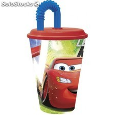 Vaso de Caña Cars Disney 430ml