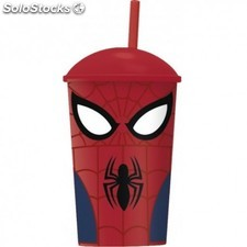 Vaso de Caña Spiderman Marvel