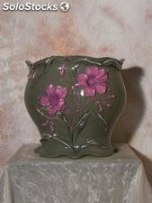 Vaso in ceramica stile liberty luxury