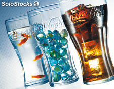 Vaso refresco coca cola pack-2 luminarc 46 cl
