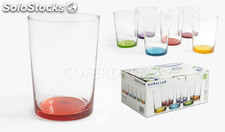 Vaso sidra gigante color PACK6 gurallar 52 cl