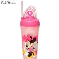 Vaso Sorbete con Pajita Minnie Mouse (300 ml)
