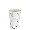 "Vaso ""volare"" 12 oz. - 360 ml 8x12 cm blanco cartoncillo"