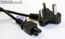 VDE plug Africa de Sur power cord para portátil O.D.:5.6mm, (0.08 20pieces) 3C