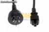VDE plug Australia power cord para portátil O.D.:6.8mm, (0.08 28pieces) 3C