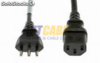 VDE plug Italia power cord para computadora O.D.:5.6mm,(0.08 20pieces) 3C