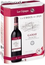 Vdp rouge croix pin gamay 3L
