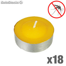 Velas de Citronela Antimosquitos Adventure Goods (pack de 18)