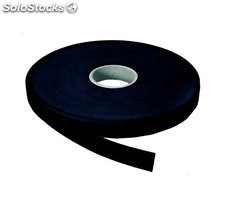 Velcro macho adhesivo negro 20 mm 25 mt
