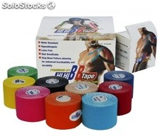 Venda neuromuscular BB TAPE 5cm x 5m Color Azul
