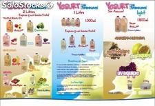 Venda yogurt por catalogo