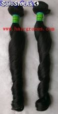 "Vente gros Remy Hair Indien Naturel Spring Curly de 12"" a 30"""