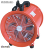 ventilador-extractor de suelo metal works mv300230