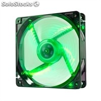 Ventilador NOX Caja Cool Fan 12cm Led Verde