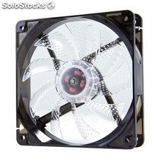 Ventilador NOX Ventilador Caja Cool Fan 12cm Led Blanco