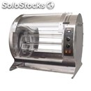 Ventilated electric rotisserie - capacity n.24/30 chickens - mod. apollo/v6 - n.