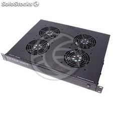 "Ventilation Rack Kit 19"" 1U 4 120mm fans (RK64)"