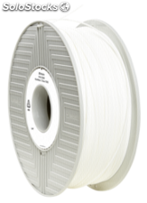 Verbatim 3D Printer Filamento PLA 1,75mm 750g blanco